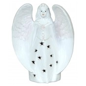 Pl Anioł W Serdaku Wycinany Biały