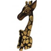 Figurka Drewniana Żyrafa Abstract 26Cm