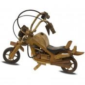 Figurka Drewniana Motor 22Cm
