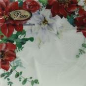 Pl Serwetki Christmas Bouquet