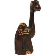 Figurka Drewniana Wielbłąd 30Cm
