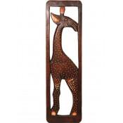 Figurka Drewniana Żyrafa W Ramce