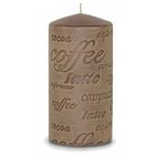 Pl Cappuccino Świeca Coffee Walec Średni